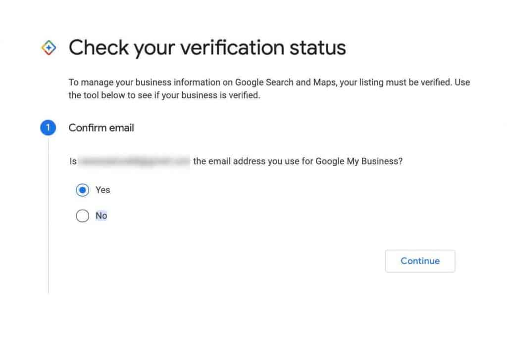 Check If Google My Business is Verified 2