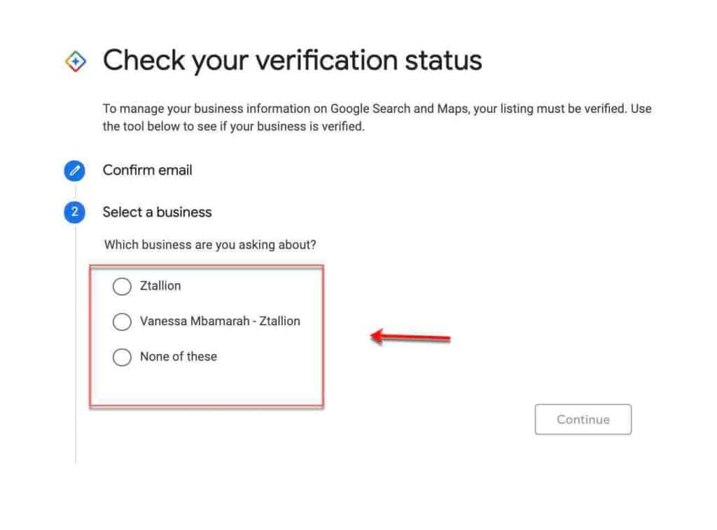 Check If Google My Business is Verified 3