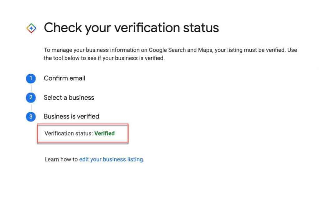 Check If Google My Business is Verified 4